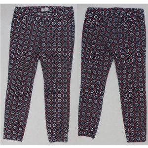 Old Navy pants 2 The Diva geometric daisy print